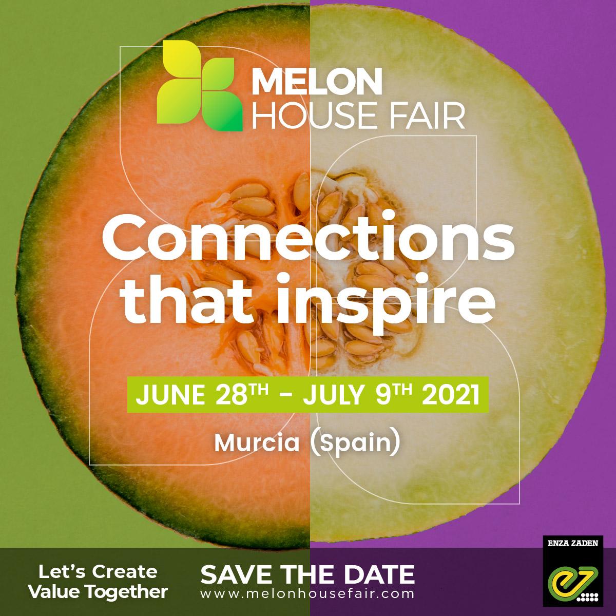 ¡La nueva edición de Melon House Fair 2021 by Enza Zaden ya está aquí!